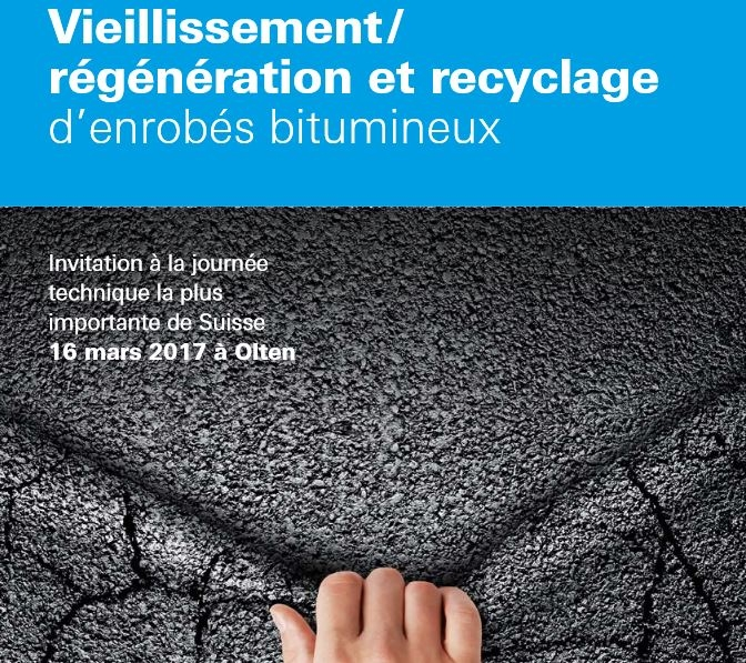 Image Forum Strasse : Ageing/regeneration and recycling of asphalt mixes